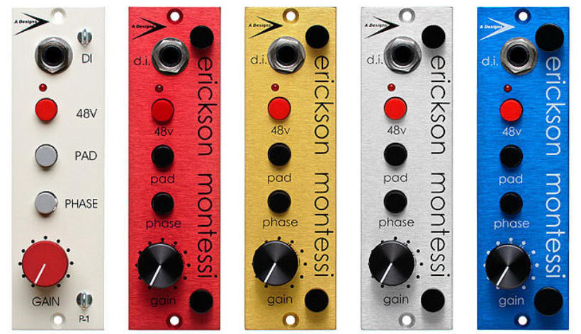 500 Series Preamps by A-Designs Audio
